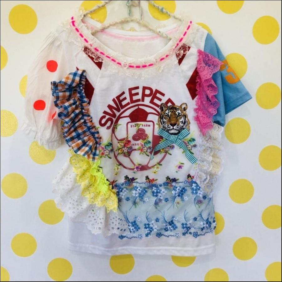 虎次郎サッカー教室へ通い始めるTシャツ