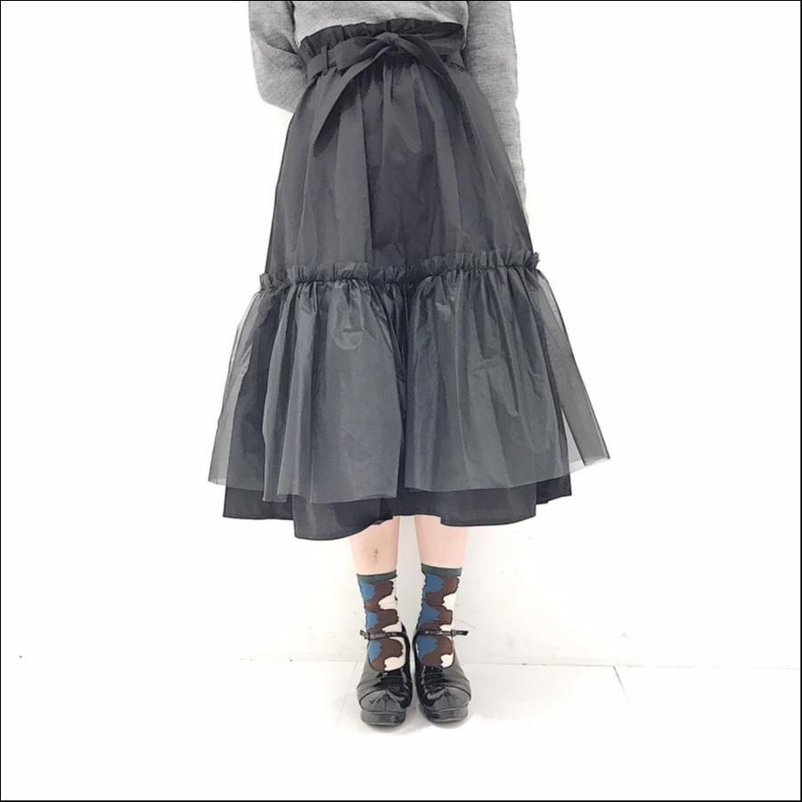 clean ギャザースカート