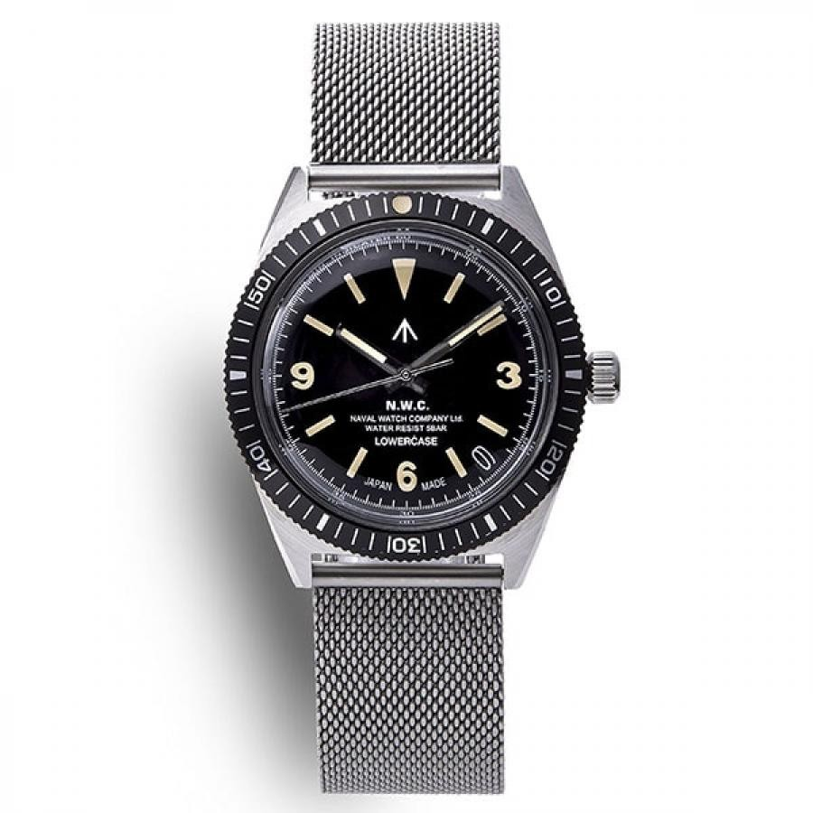 【NAVAL WATCH Produced by LOWERCASE】 クォーツ メンズ
