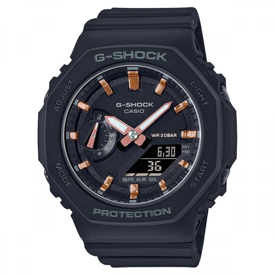 【G-SHOCK】 八角形 GMA-S2100-1AJF ミッドサイズ