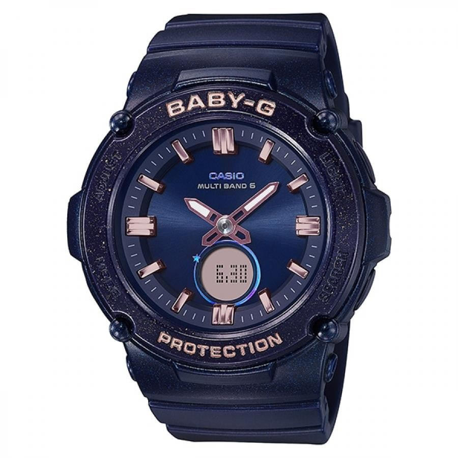 【BABY-G】 Starlit Bezel Series ネイビー
