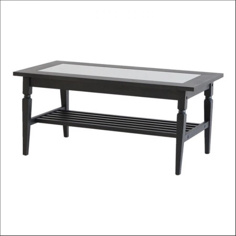 アイネリノガラステーブル(ブラック色)