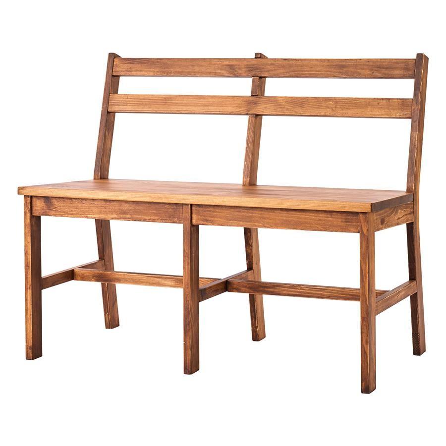 サム 背付ベンチ