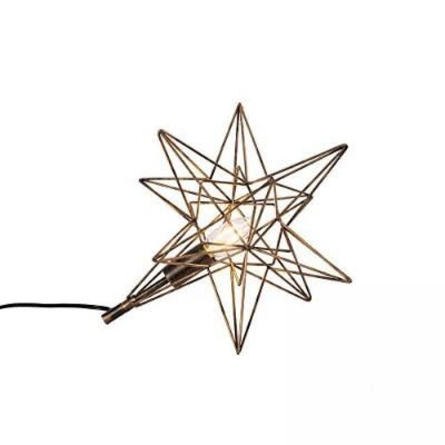 星型テーブルランプ