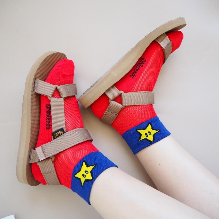 ワンポイントメッシュ靴下 42【22~24cm】