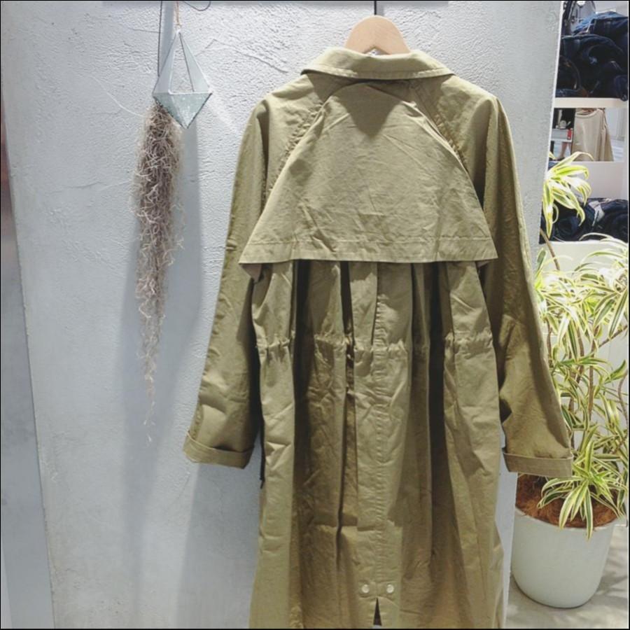 テントラインステンカラーコート