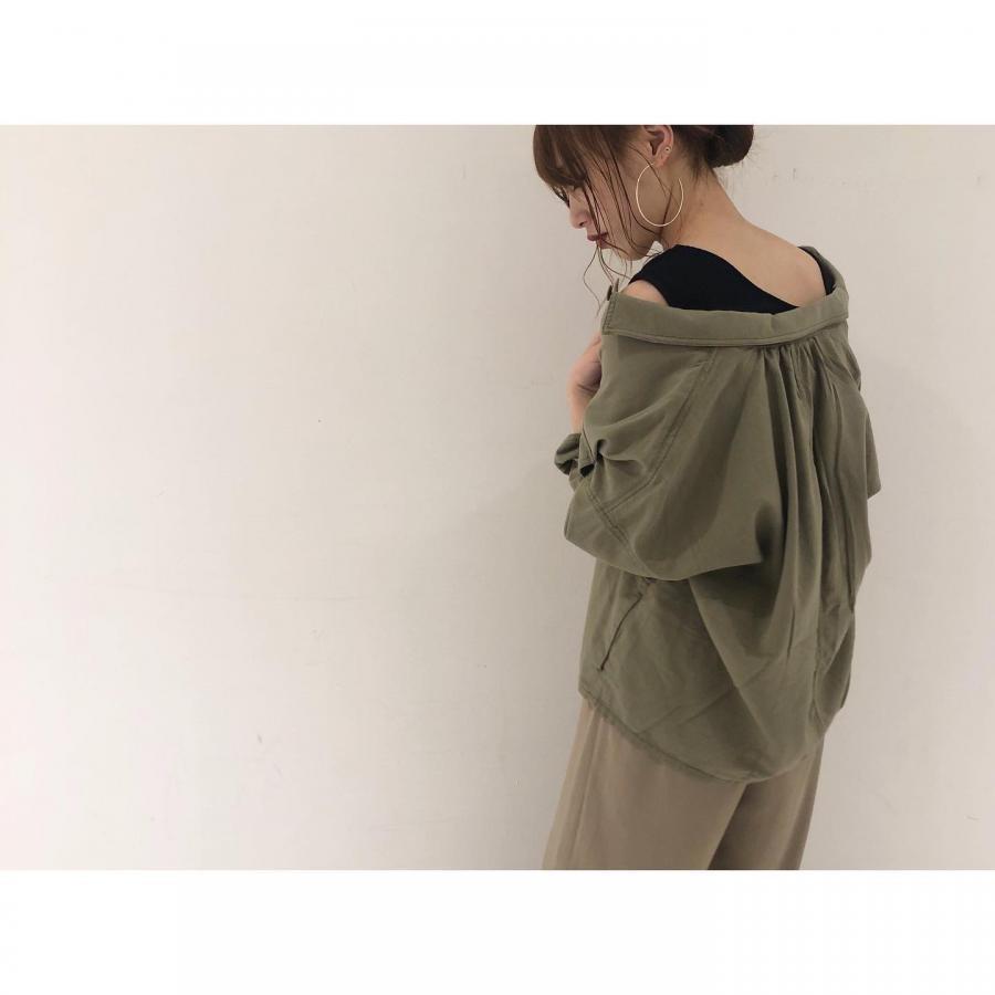 メンレーヨンシャツジャケット