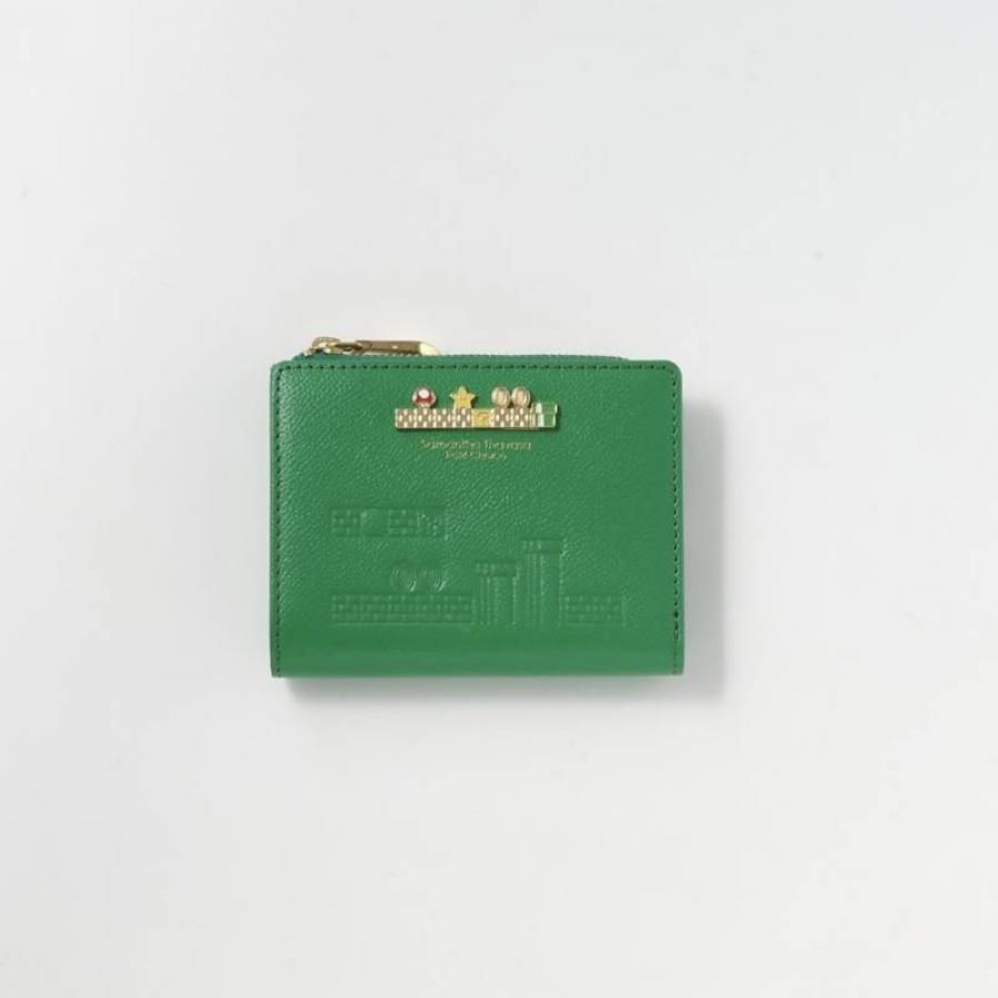 【パルコ×スーパーマリオ コラボアイテム】  Lジップ折財布