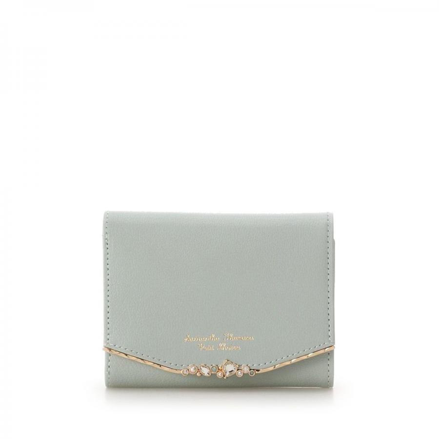 ハートジュエルバージップ型折財布