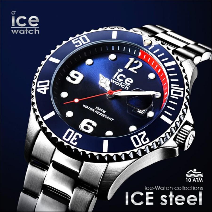 アイスウォッチ 新作 ICE steel アイススティール(ミディアム、ラージ) 【ICE-WATCH】