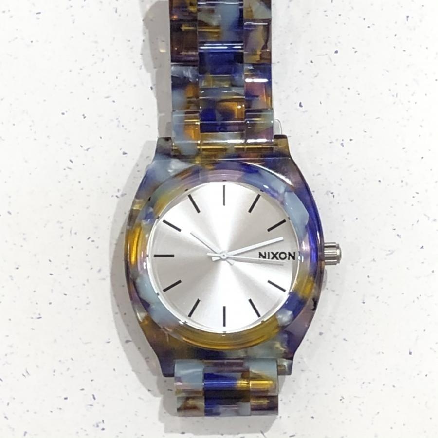 NIXON Time Teller Acetate(Watercolor Ace)