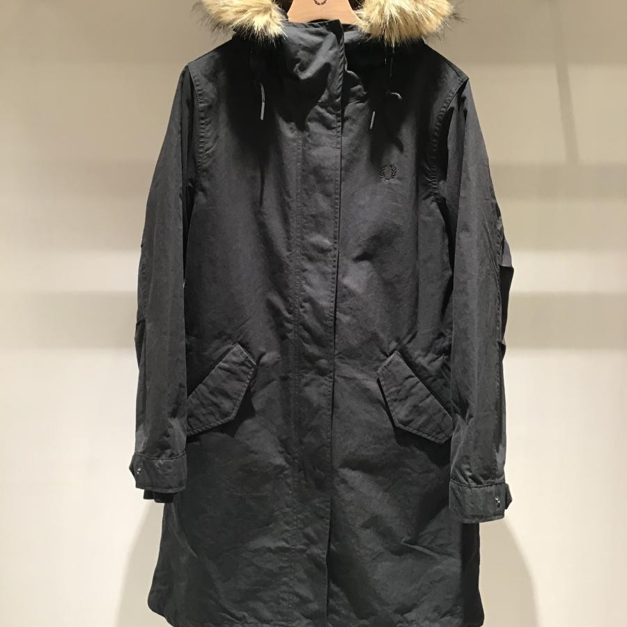 WOMEN ZIP IN LINER PARKA BLACK