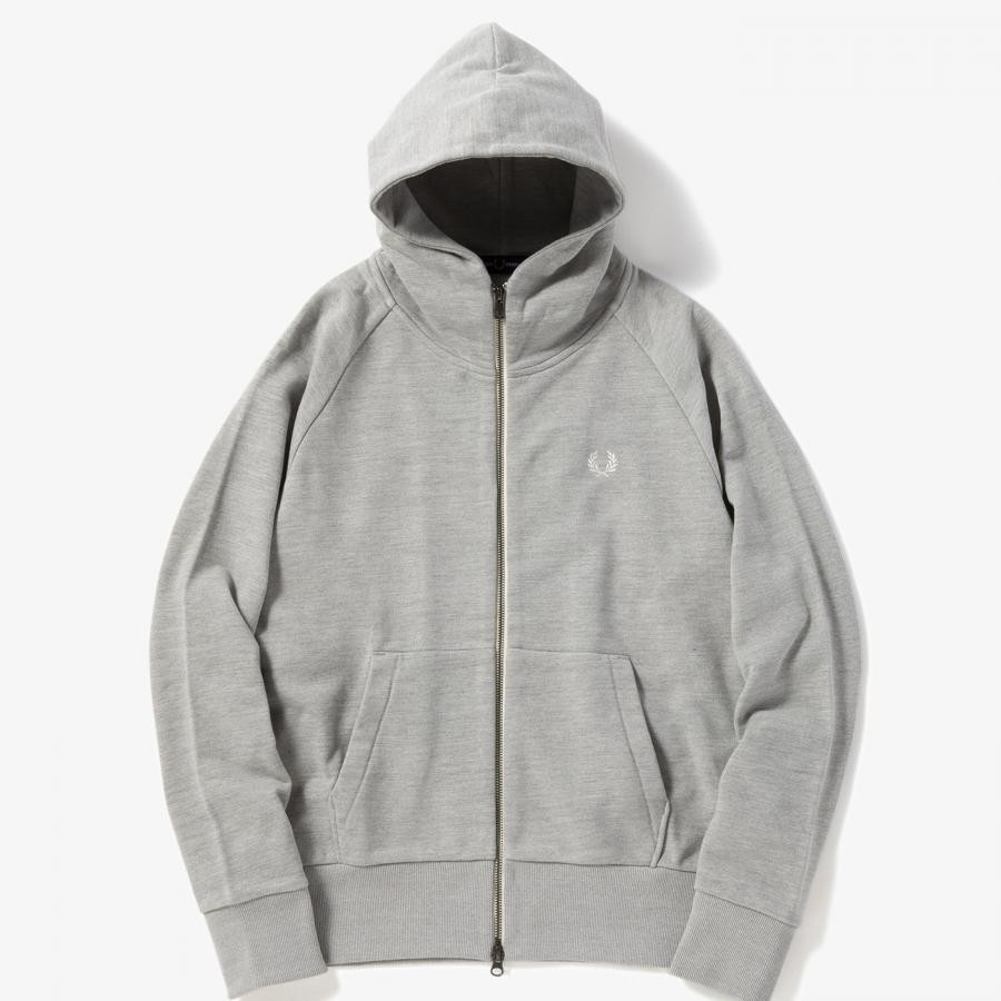 LOOPBACK HOODED SWEAT