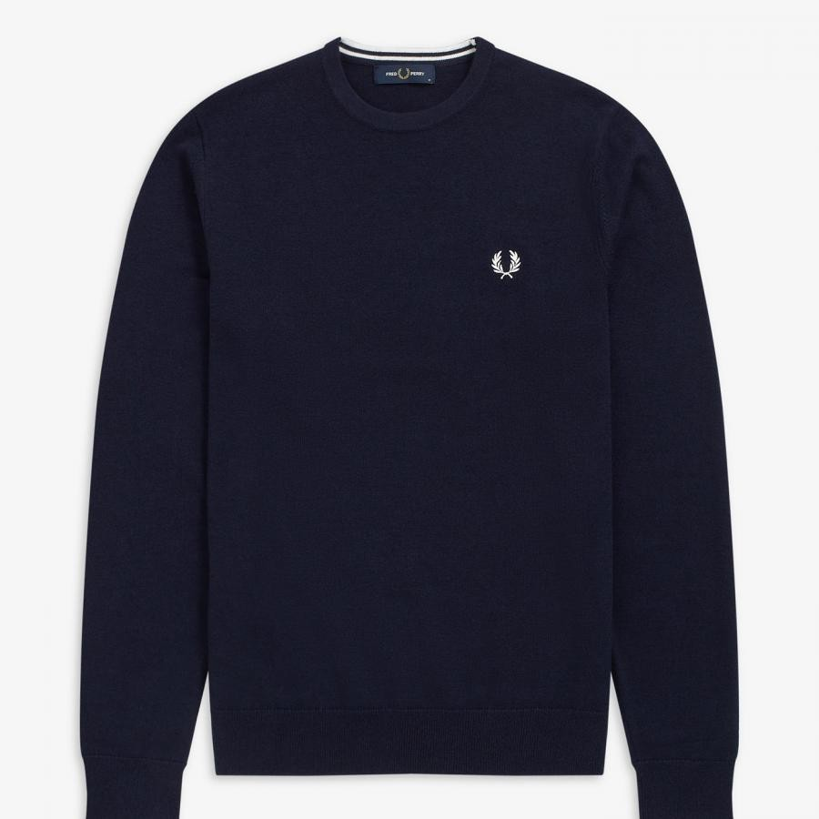 CLASSIC CREW NECK JUMPER NAVY