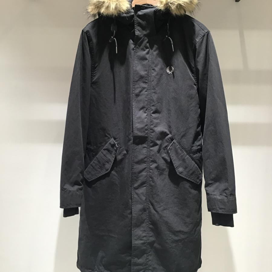 MEN ZIP IN LINER PARKA BLACK