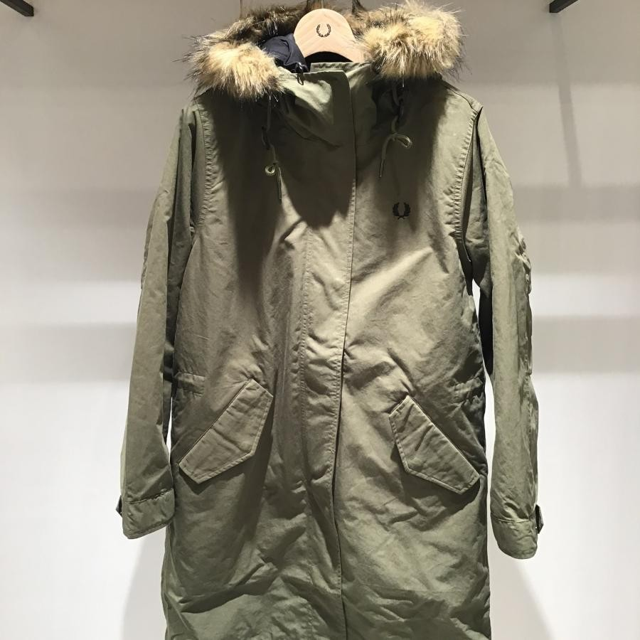 WOMEN ZIP IN LINER PARKA BRITISH OLIVE