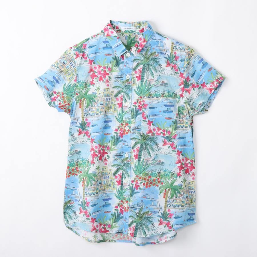 Cape Vista半袖レギュラーシャツ