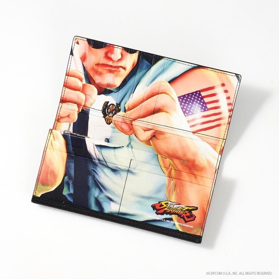 ストリートファイターコラボ長財布
