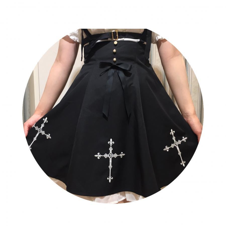 Rosaryハーネス風サス付スカート
