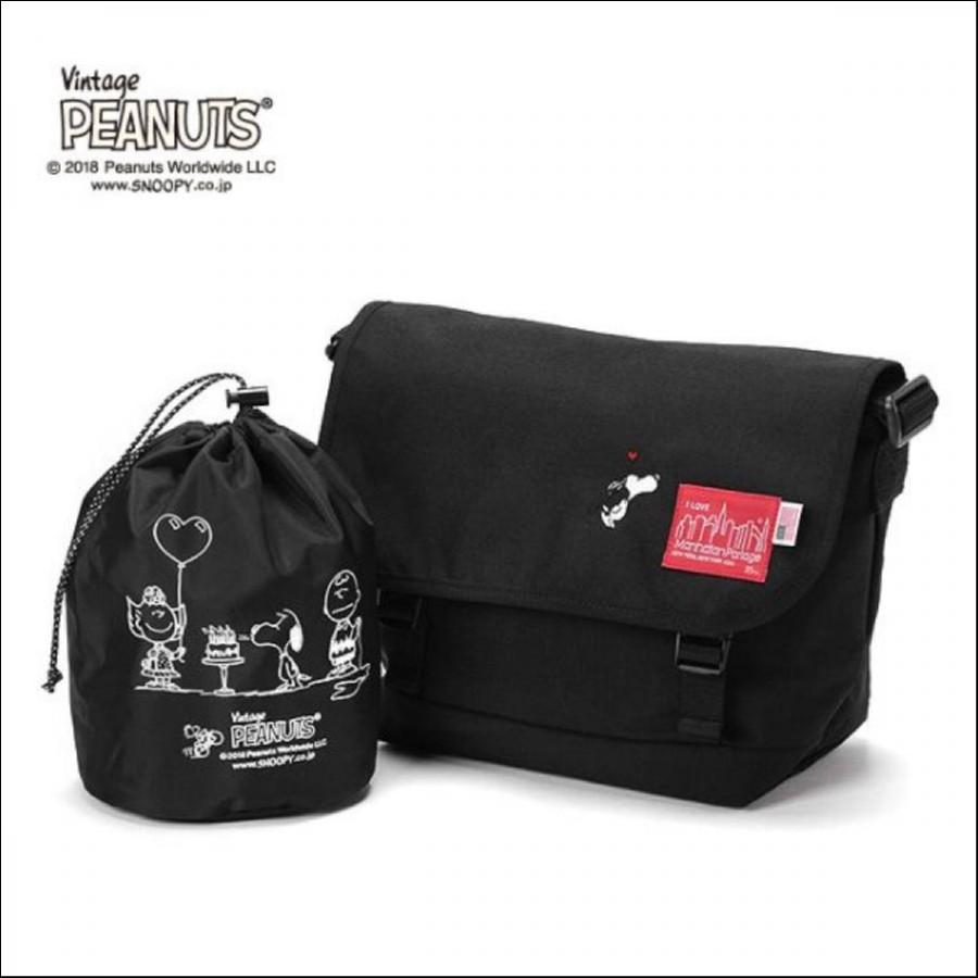 Manhattan Portage × PEANUTS Casual Messenger Bag