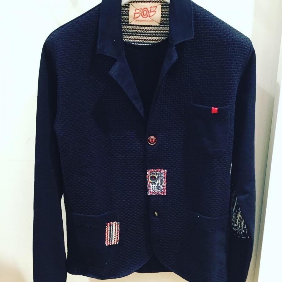 BOB パッチワークカットジャケット