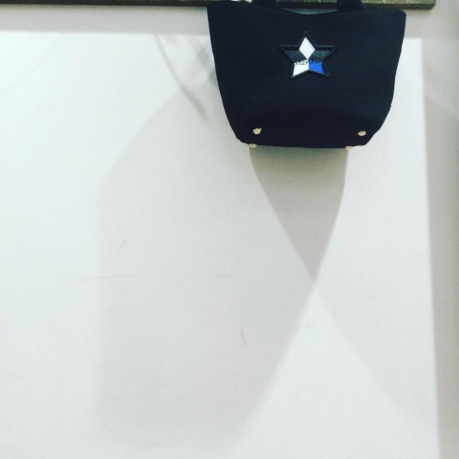 Starlean キャンバスミニトートバッグ ブラック