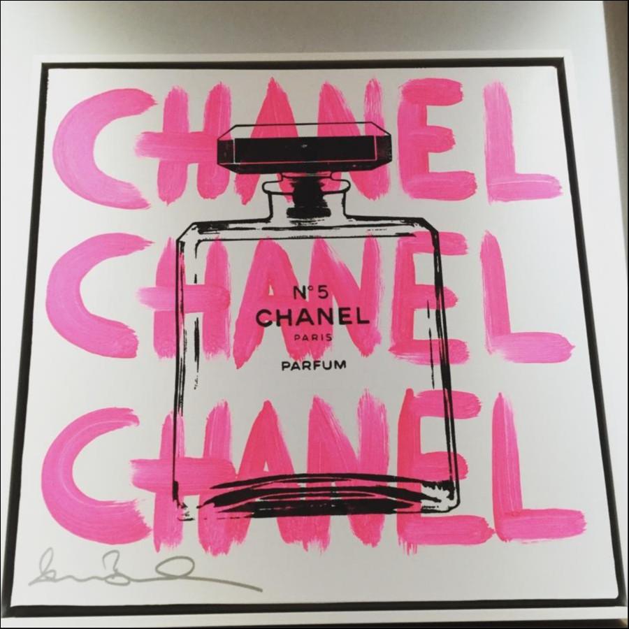 shanebowden Chanel art