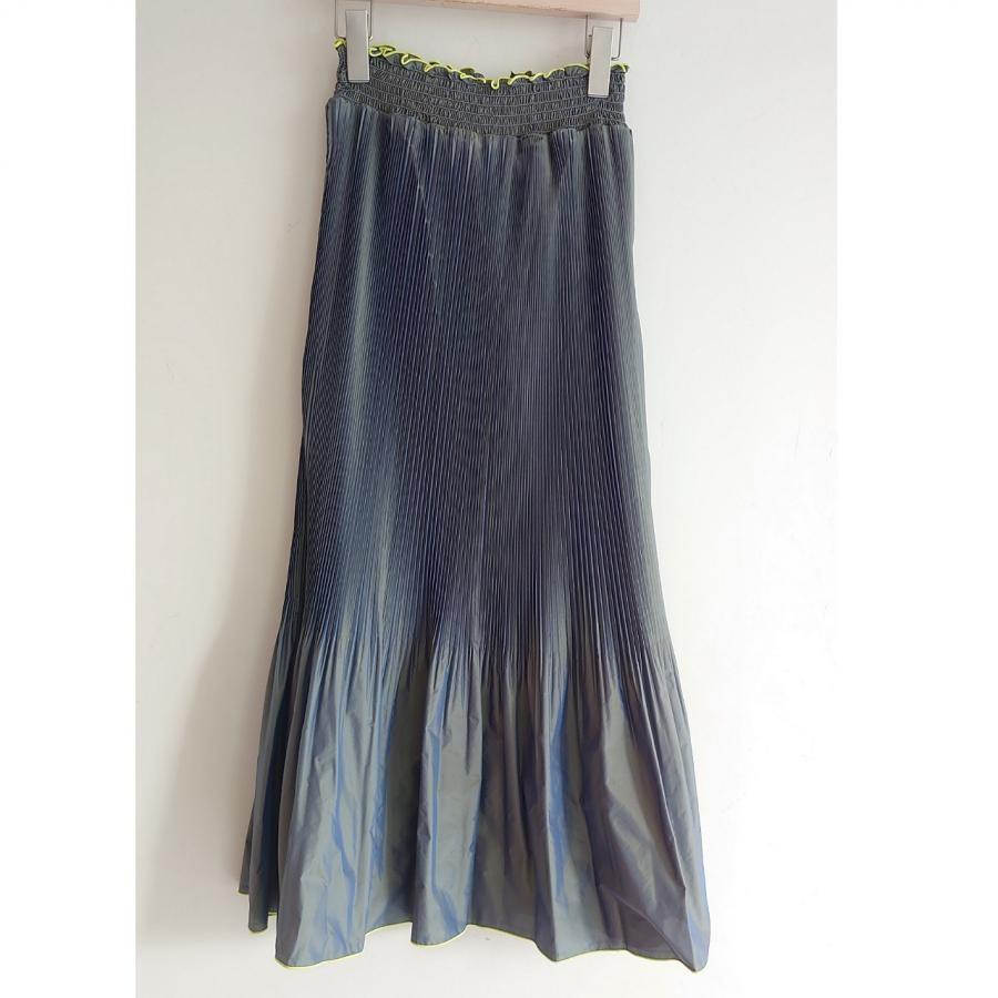 マーメイドプリーツスカート