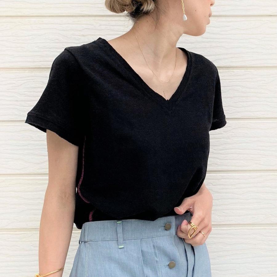 【期間限定price】綿麻ディリー半袖Tシャツ