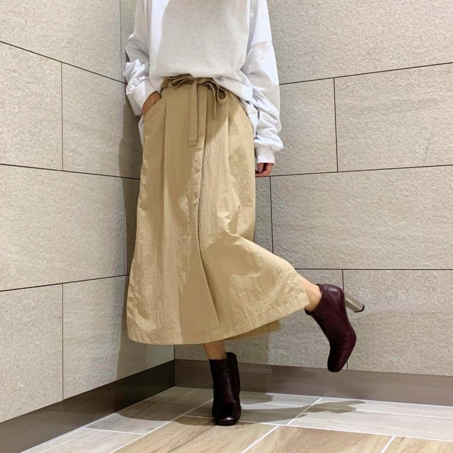 リボンベルトナロースカート