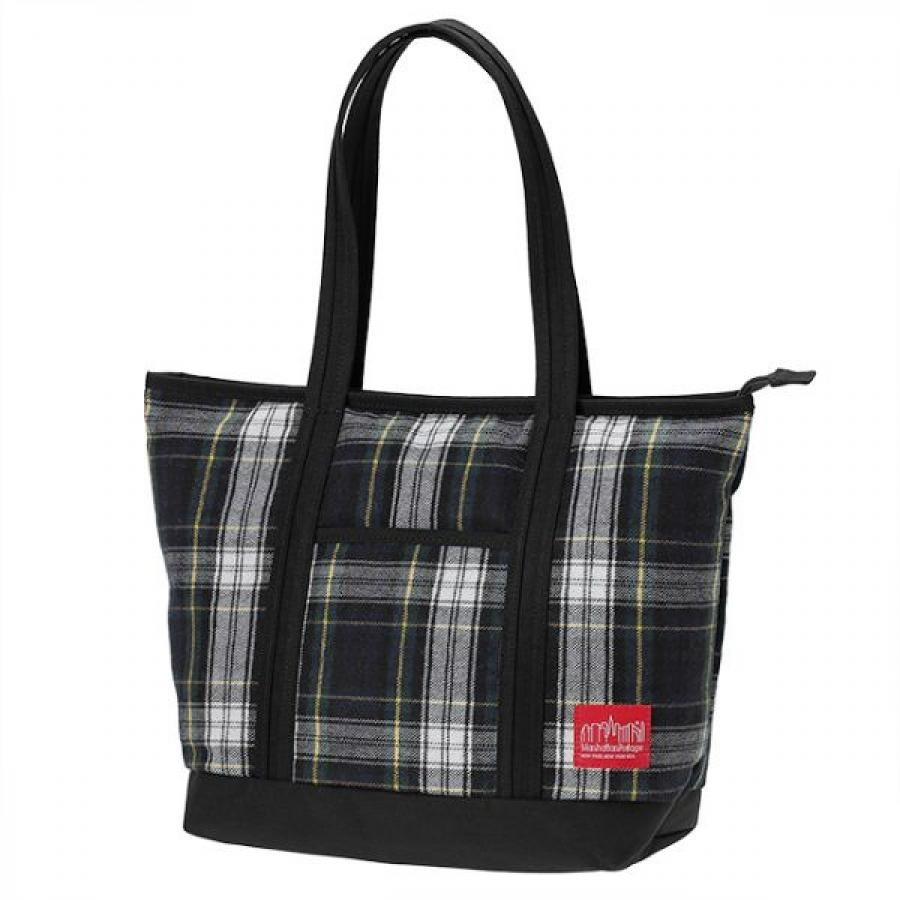 Cherry Hill Tote Bag Plaid Collection