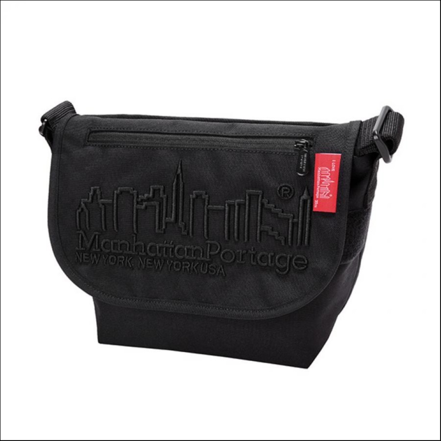 MP Embroidery Casual Messenger Bag