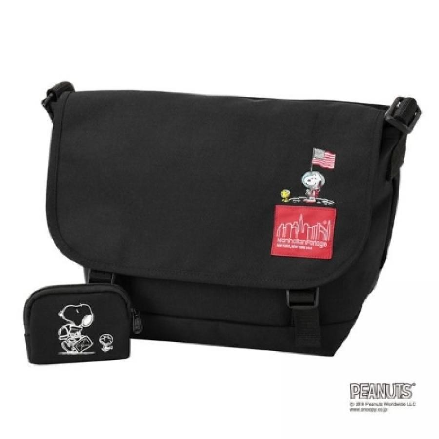 Manhattan Portage × PEANUTS Casual Messenger Bag JR