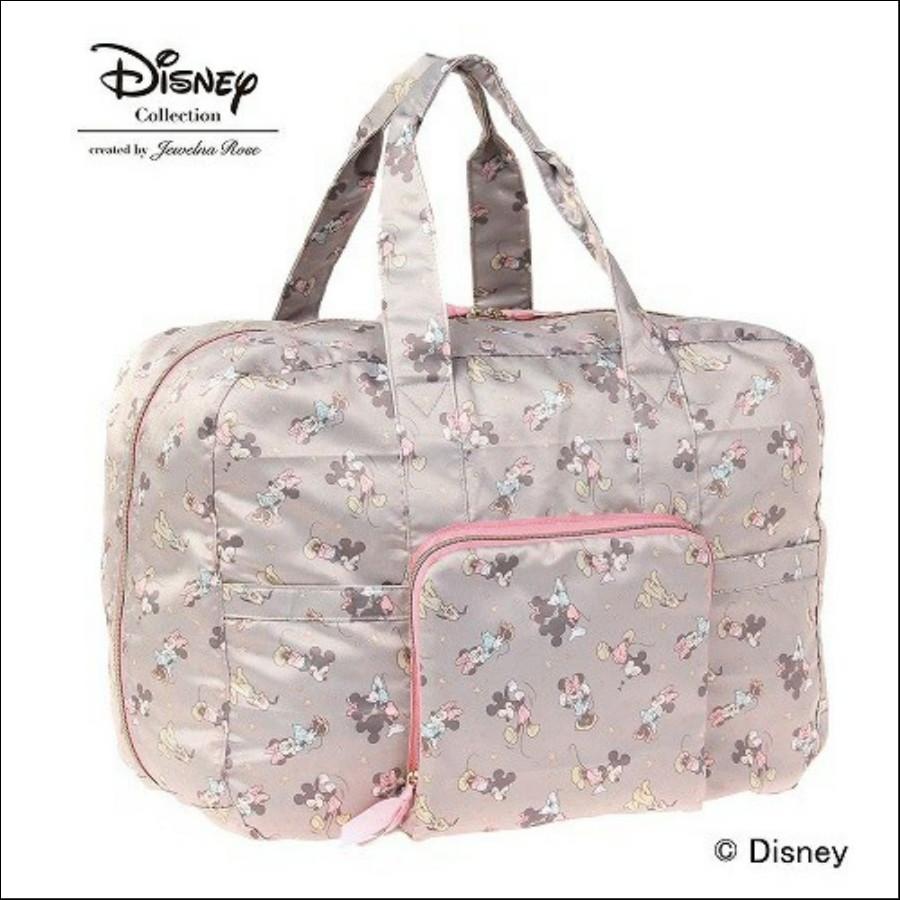 ミッキーミニー折り畳みバッグS