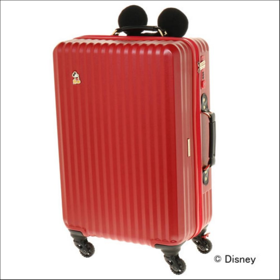 カレッジミッキースーツケース