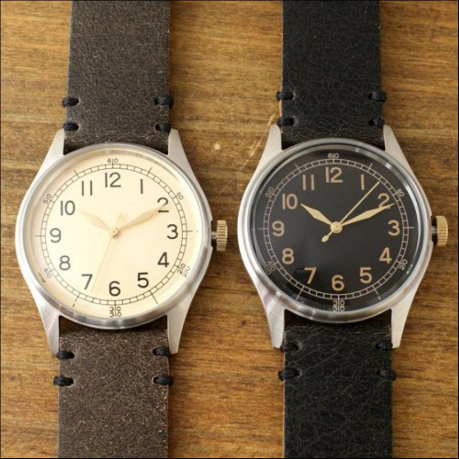 Atease 1940's Military Watch Type-3