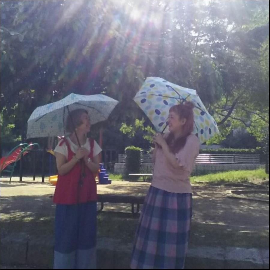 折り畳み晴雨兼用傘