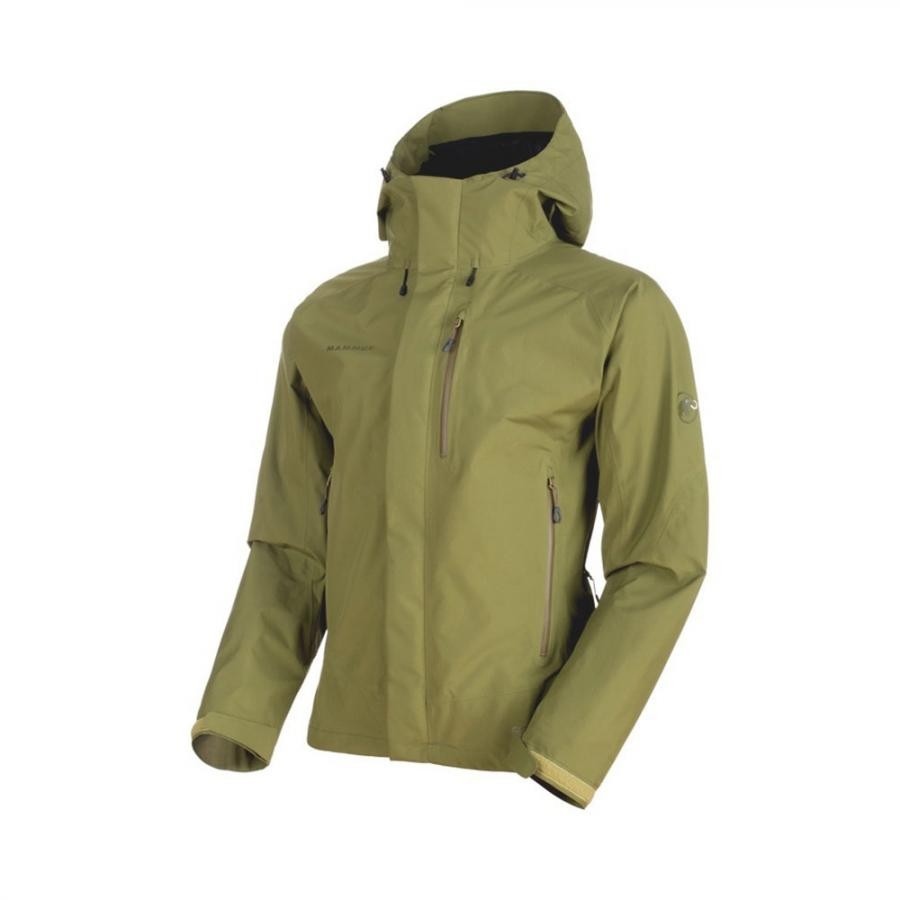 MAMMUT(マムート)Ayako Pro HS Hooded Jacket Men /clover  ※送料無料
