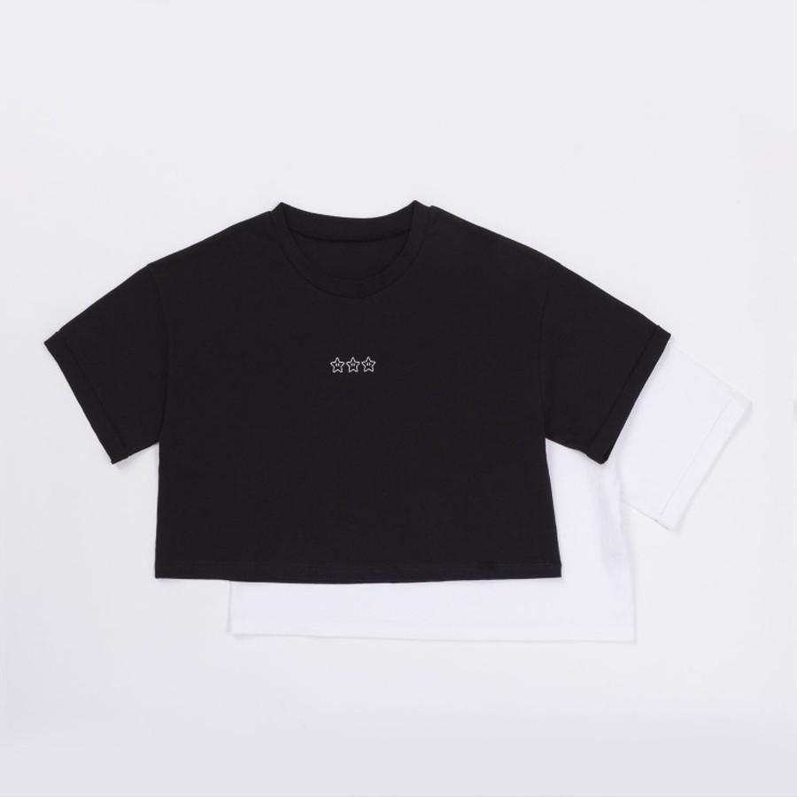 オーバー短丈Tシャツ(マリオ)