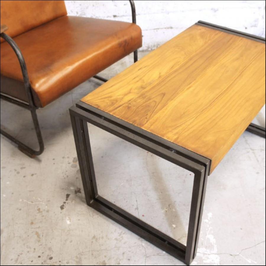 エレグノ コーヒーテーブル 80×45(cm)【OD7795】