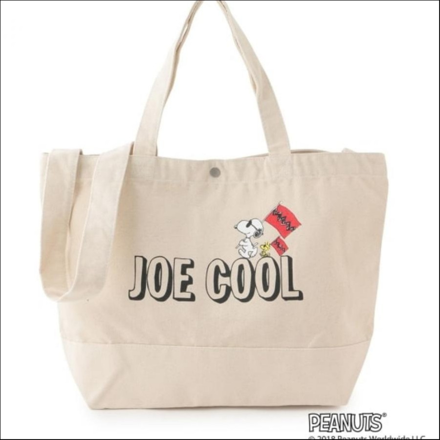 【SNOOPY×Adam et Rope' Le Magasin】2WAY バッグ