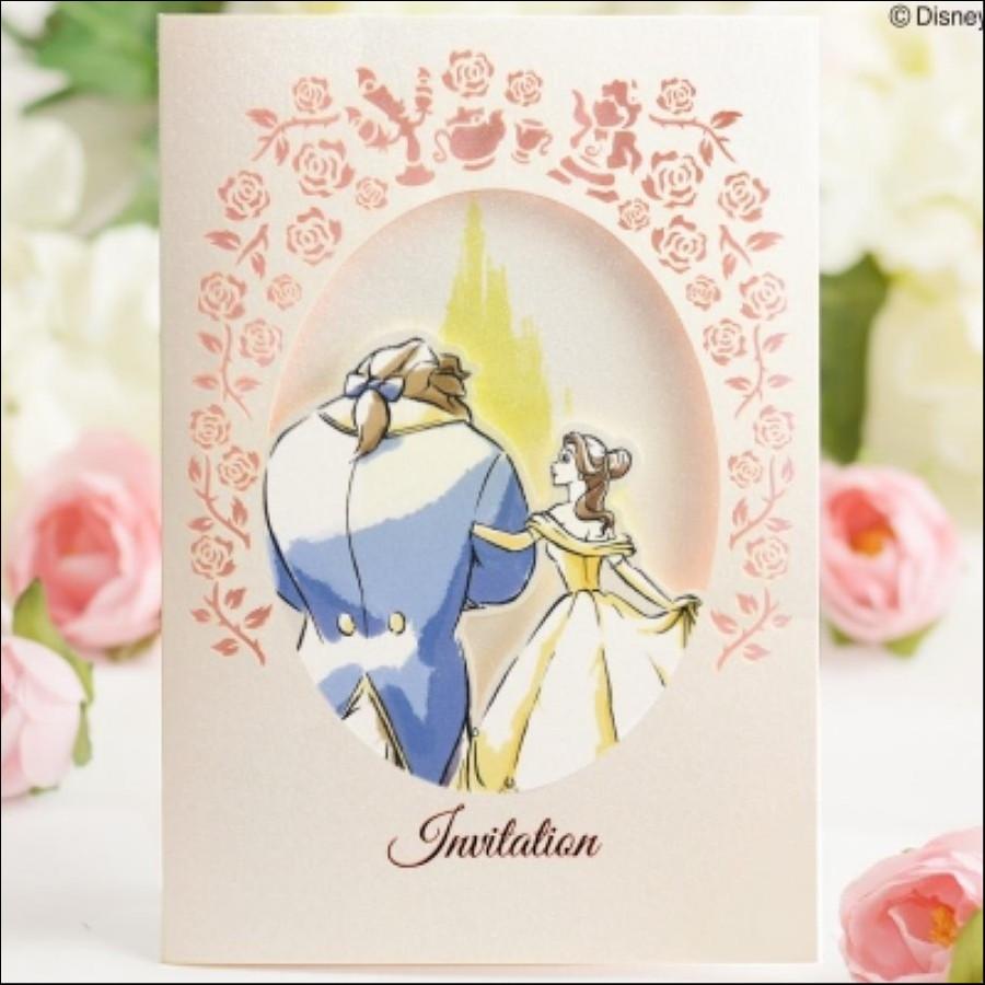 結婚式招待状(手作りキット)エンブレイス(10枚セット)