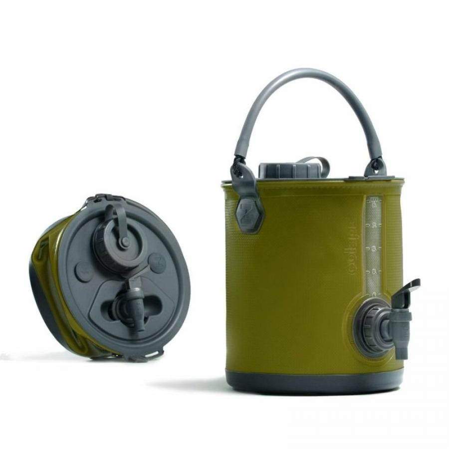 〈COLAPZ〉Collapsible Water Carrier&Bucket 折り畳みジャグ