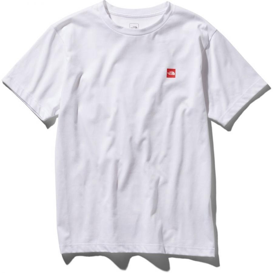 THE NORTH FACE  ザ・ノースフェイス S/S Small Box Logo Tee ショートスリーブスモールボックスロゴティー(メンズ)NT31955  (W)ホワイト