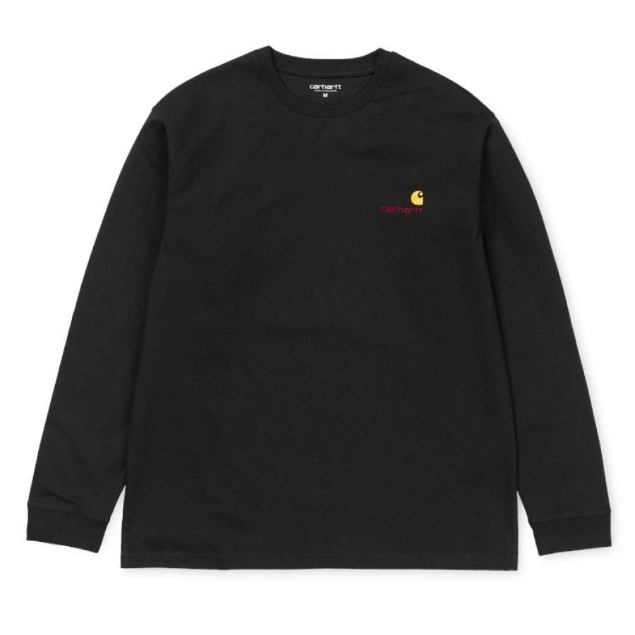 【送料無料】 CARHARTT 19FW  L/S AMERICAN SCRIPT T-SHIRT  長袖 アメリカン スクリプト Tシャツ