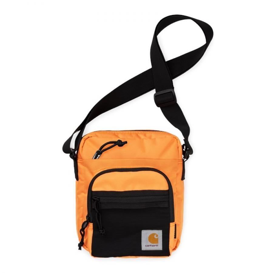 【送料無料】CARHARTT DELTA STRAP BAG - Pop Orange
