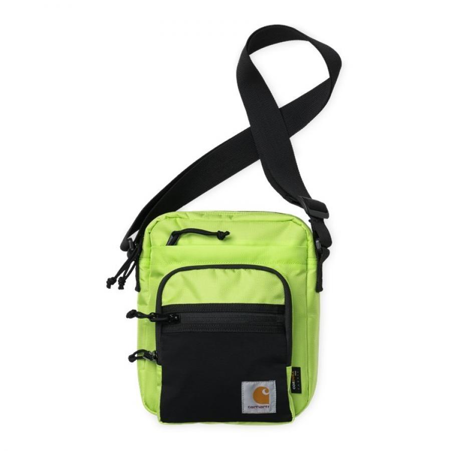 【送料無料】CARHARTT DELTA STRAP BAG - Lime