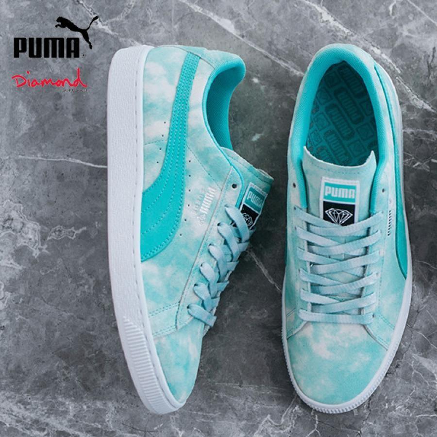 送料無料 PUMA プーマ x Diamond Supply Co. ダイヤモンド サプライ UEDE DIAMOND SUPPLY 369396