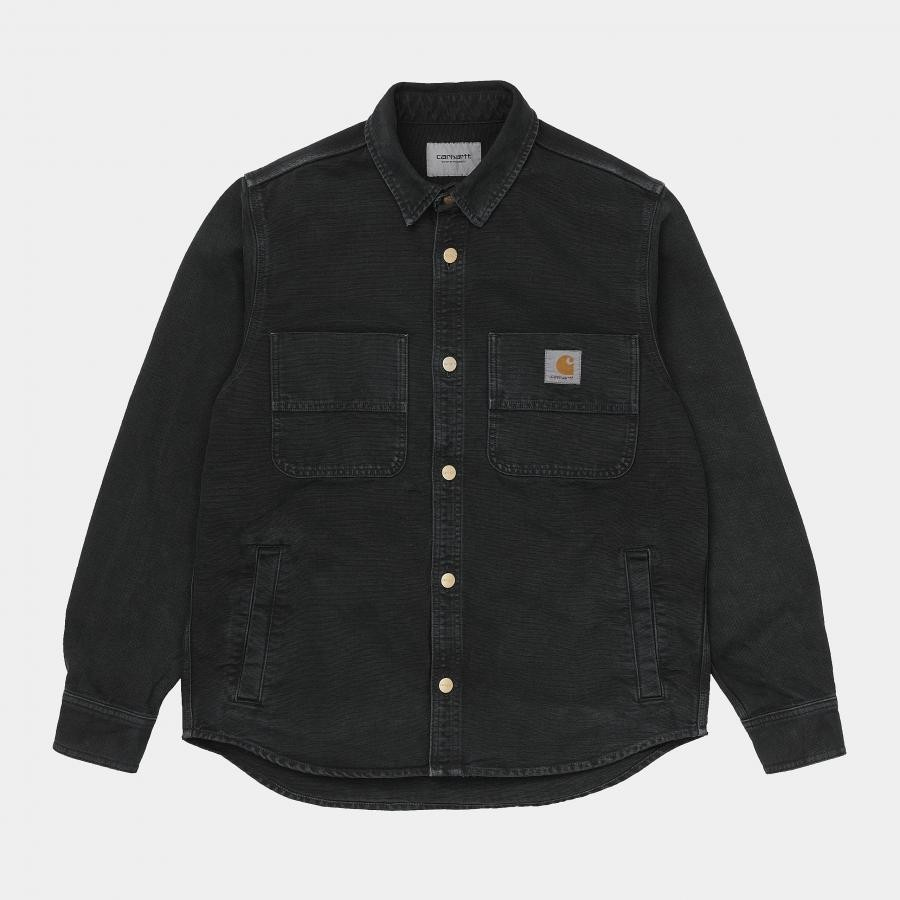 Carhartt カーハート ジャケット GLENN SHIRT JACKET I028662 Black
