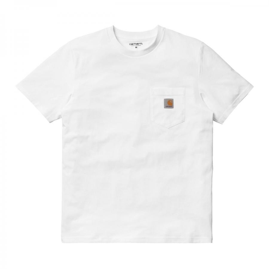 CARHARTTWIP  ポケットTシャツ  S/S POCKET T-SHIRT - White I022091